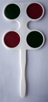 Тест красно-зеленый (нерегулируемый) - фото 5239