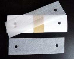 Бумажки-прокладки под подбородок для щелевых ламп и тд. - фото 5292
