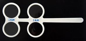 Флиппер в пластиковой раме +/- 0.25 (нерегулируемый)