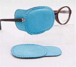 Тканевый окклюдер на очки (детский) - фото 5246