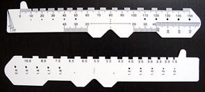 Линейка для измерения межцентрового расстояния