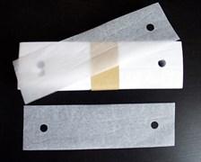 Бумажные пластины под подбородок для щелевых ламп и тд.