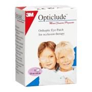 Пластырь глазной Opticlude 5,0 × 6,2 см, бежевый, 20 шт. (от 0-3 лет)